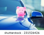 closeup image new car with... | Shutterstock . vector #231526426