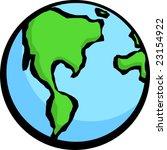 planet earth | Shutterstock .eps vector #23154922