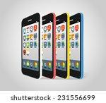 modern smartphone different...