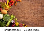 healthy food background  ... | Shutterstock . vector #231564058