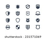 shield icons | Shutterstock .eps vector #231571069
