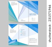 abstract colored brochure... | Shutterstock .eps vector #231571966