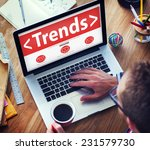 new trends future bussiness...   Shutterstock . vector #231579730