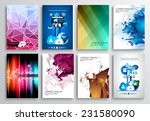 set of flyer design  web... | Shutterstock .eps vector #231580090