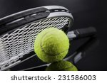a set of tennis. racket and... | Shutterstock . vector #231586003