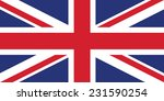 united kingdom  british union...   Shutterstock .eps vector #231590254