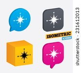 compass sign icon. windrose...   Shutterstock .eps vector #231612013
