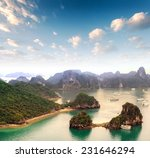 vietnam   halong bay panoramic... | Shutterstock . vector #231646294