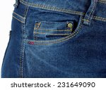 Blue Jeans Pocket Denim Texture