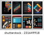 set of flyer design  web... | Shutterstock .eps vector #231649918