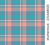 Tartan Pattern. Gentle Colors...