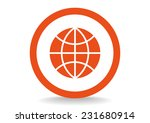 globe web icon. vector design | Shutterstock .eps vector #231680914