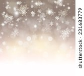 abstract holiday background... | Shutterstock . vector #231683779
