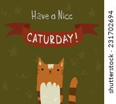 cat's saturday postcard. the...