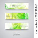 business design templates. set... | Shutterstock .eps vector #231713440