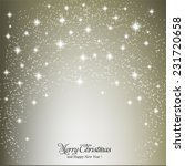merry christmas and happy new... | Shutterstock .eps vector #231720658