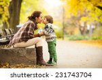 mother and son | Shutterstock . vector #231743704