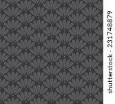 seamless dark gray oriental...   Shutterstock . vector #231748879
