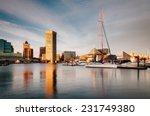 evening light on the inner... | Shutterstock . vector #231749380