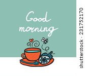 good morning background with... | Shutterstock .eps vector #231752170