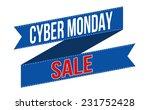 cyber monday sale banner design ... | Shutterstock .eps vector #231752428