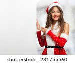 Smiling Young Woman Dressed Fo...