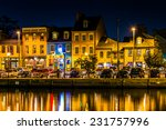 shops and restaurants at night... | Shutterstock . vector #231757996