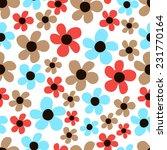 flower pattern. classical ditsy ...   Shutterstock .eps vector #231770164