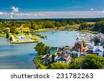 view of chesapeake city from... | Shutterstock . vector #231782263