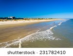 View Of The Beach From The...