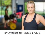 portrait of beautiful female... | Shutterstock . vector #231817378