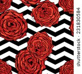 chevrons seamless pattern... | Shutterstock .eps vector #231830584