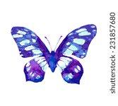 butterflies design | Shutterstock .eps vector #231857680