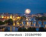 Prague After Sunset With...