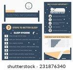 sleep infographic. importance... | Shutterstock .eps vector #231876340