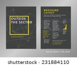 brochure  catalog  cover  page... | Shutterstock .eps vector #231884110