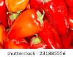 red pepper as background | Shutterstock . vector #231885556