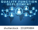 quality function deployment... | Shutterstock . vector #231890884