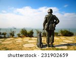 a statue of a soldier in kinmen ... | Shutterstock . vector #231902659