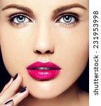 high fashion look.glamor... | Shutterstock . vector #231953998