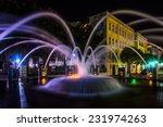 Fountain At Night At The...