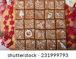 advent calendar  christmas...   Shutterstock . vector #231999793