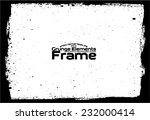 grunge frame   abstract texture.... | Shutterstock .eps vector #232000414