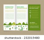 template vector ecological... | Shutterstock .eps vector #232015480