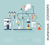 chemistry education research... | Shutterstock .eps vector #232033693