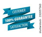 customer satisfaction 100...   Shutterstock .eps vector #232057363