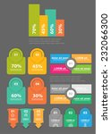 info graphic banners | Shutterstock .eps vector #232066300