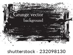 vector grunge background.... | Shutterstock .eps vector #232098130