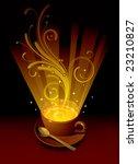 raster version of vector cup... | Shutterstock . vector #23210827