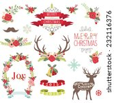 christmas design collection | Shutterstock .eps vector #232116376